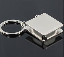 Mini Practical Tape Measure Keychain Key Chain Ring Keyring Key Fob Holder CA