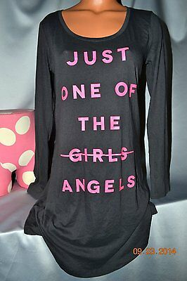 Victorias Secret Just One Of The Angels Night Gown Sleep Shirt Pajamas NWT L
