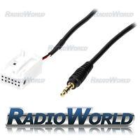 Audi A4 A5 Q5 Aux Input Adaptor Audio Interface Converter Lead 3.5mm Jack Plug