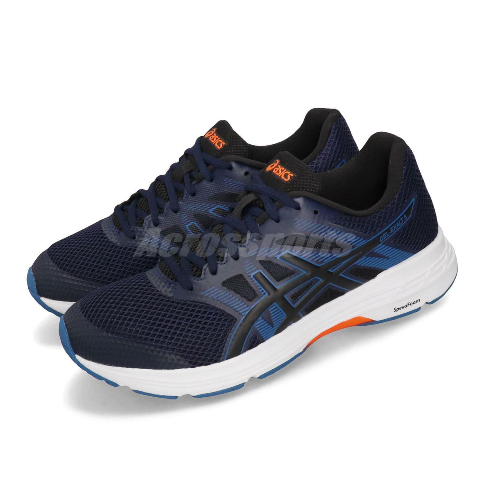 Asics GelExalt 5 Peacoat blu bianca Men Running scarpe scarpe da ginnastica 1011A162401