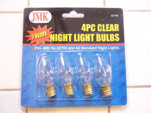 4 PC Night Light Set/_Replaces Standard Night Light Bulb