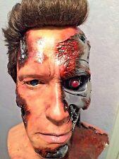Terminator GENYSIS Stage 5 Life Size 1:1 Arnold Schwarzenegger BUST Custom
