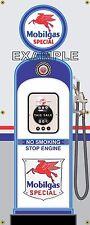 MOBIL SPECIAL PEGASUS RETRO GAS PUMP GAS STATION BANNER GARAGE SIGN ART 2 X 5