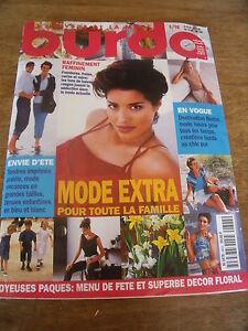 MAGAZINE BURDA  TENUES CHIC AUX COULEURS TENDRES   1992