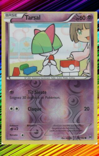 Carte Pokemon Neuve Française 68//162 Tarsal Reverse XY8:Impulsion Turbo