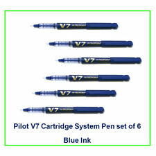 Pilot Hi-tecpoint V7 cartridge System Pen(Blue)(set of  6):9000020450
