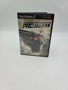 Need for Speed: ProStreet (Sony PlayStation 2, 2007) With Manual