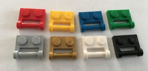Lego 1x2 Modified plate w// Handle Bar Part 48336 packs of 20 choose your colour.