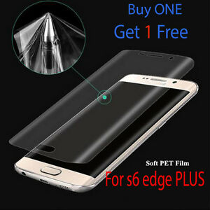 New-Samsung-Galaxy-s6-Edge-PLUS-Curved-TPU-Full-Screen-Protector-Ultra-Clear