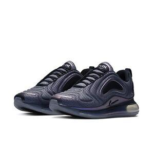 d9136d3d31836 Nike Mens Air Max 720 Aurora Borealis Northern Lights Silver Black ...