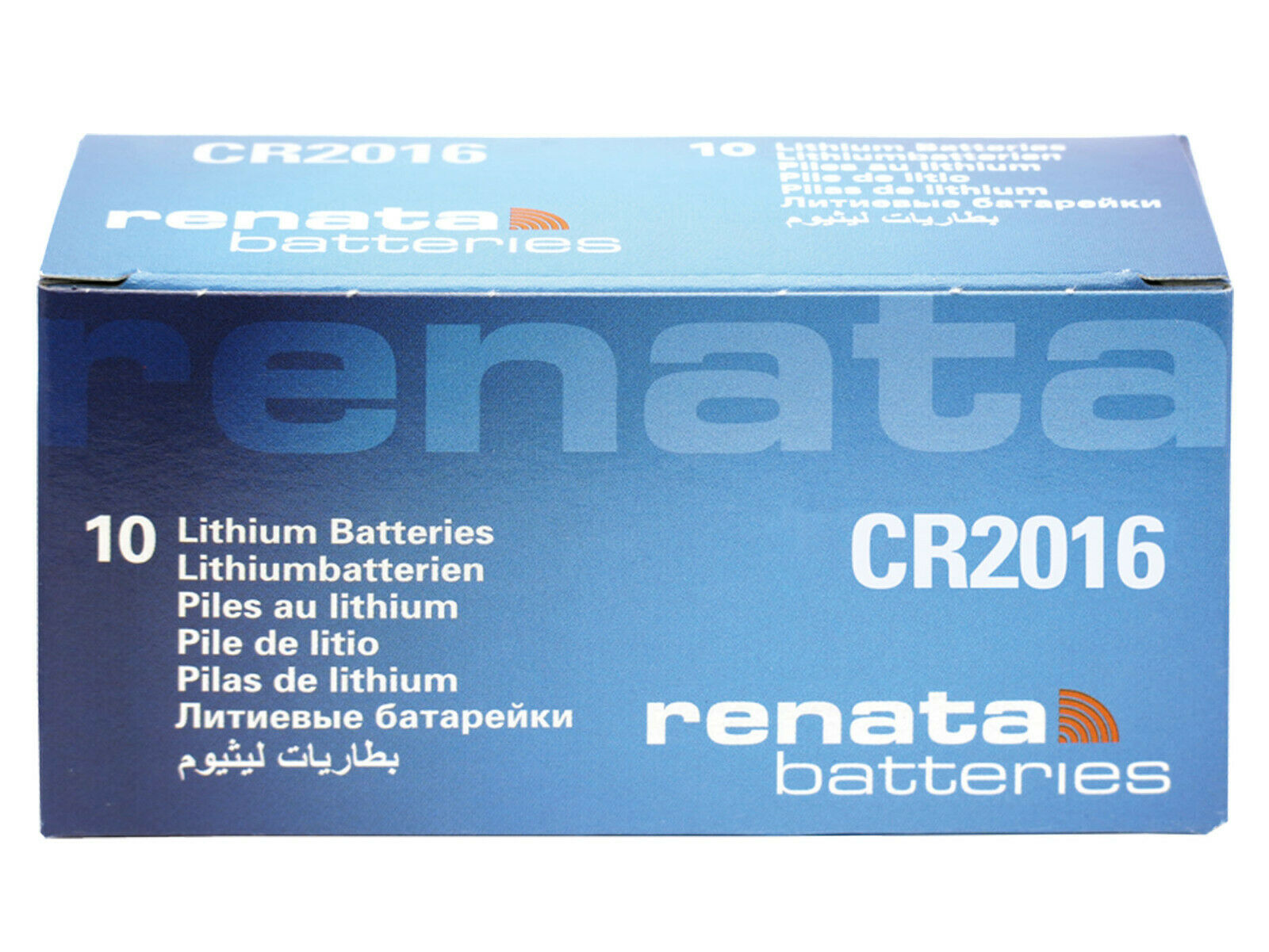 10 x Renata cr2016 3v Stack Battery Cell Coin Replace CR BR DL KCR ECR 2016 ml