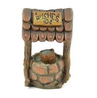 10 Cent Wishing Well, 4 X 2.25 - Resin - Miniature Fairy Garden Dollhouse