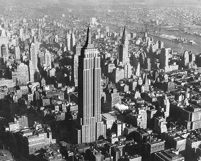 NEW YORK STOCK EXCHANGE /& WILKS BUILDING 8x10 SILVER HALIDE PHOTO PRINT