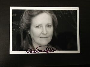 CHRISTINE-LOHR-DOWNTON-ABBEY-ACTRESS-SUPERB-SIGNED-B-W-PHOTOGRAPH