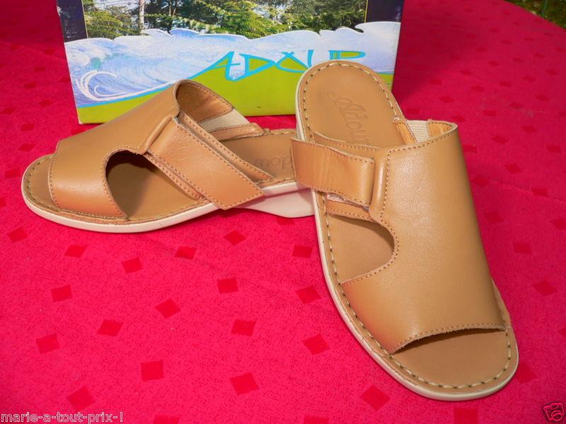 Chaussures de ultra confort cuir PIEDS GONFLES 35