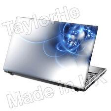 Laptop piel cubierta Notebook Adhesivo Blanco N Blue Diseño