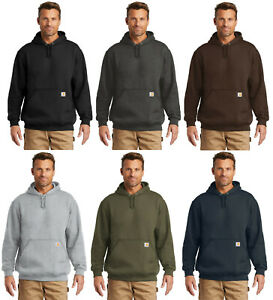 New Carhartt Men/'s Midweight Hooded Sweatshirt Pullover Workwear Hoodie