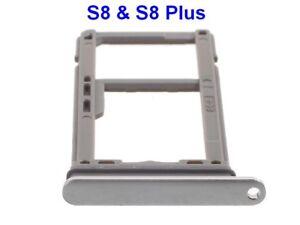 Pour-Samsung-Galaxy-S8-PlusSM-G955F-Tiroir-Support-Plateau-Carte-SIM-et-Micro-SD