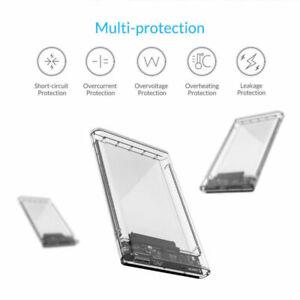 2-5-034-USB3-0-Transparent-5Gbps-Sata-HDD-SSD-Caddy-Case-UASP-Hard-Drive-Enclosure