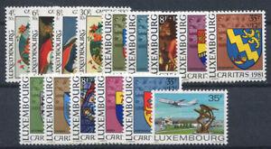 Luxembourg-1980-Neuf-100-Tige-Peinture-Plan