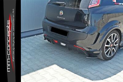 Cup Spoilerlippe für Fiat Grande Punto Abarth Lippe Spoiler Diffusor Schwert ABS