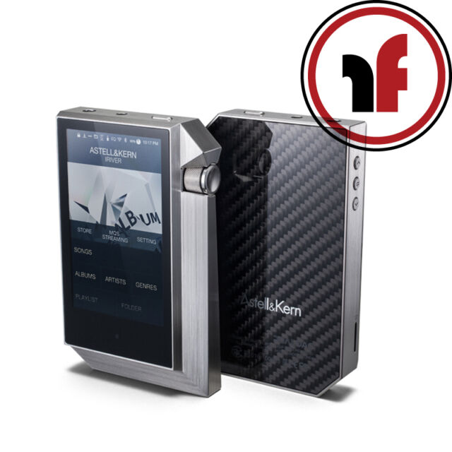 New Astell & Kern AK240 Stainless Steel Digital Music player, DSD 256 GB Memory