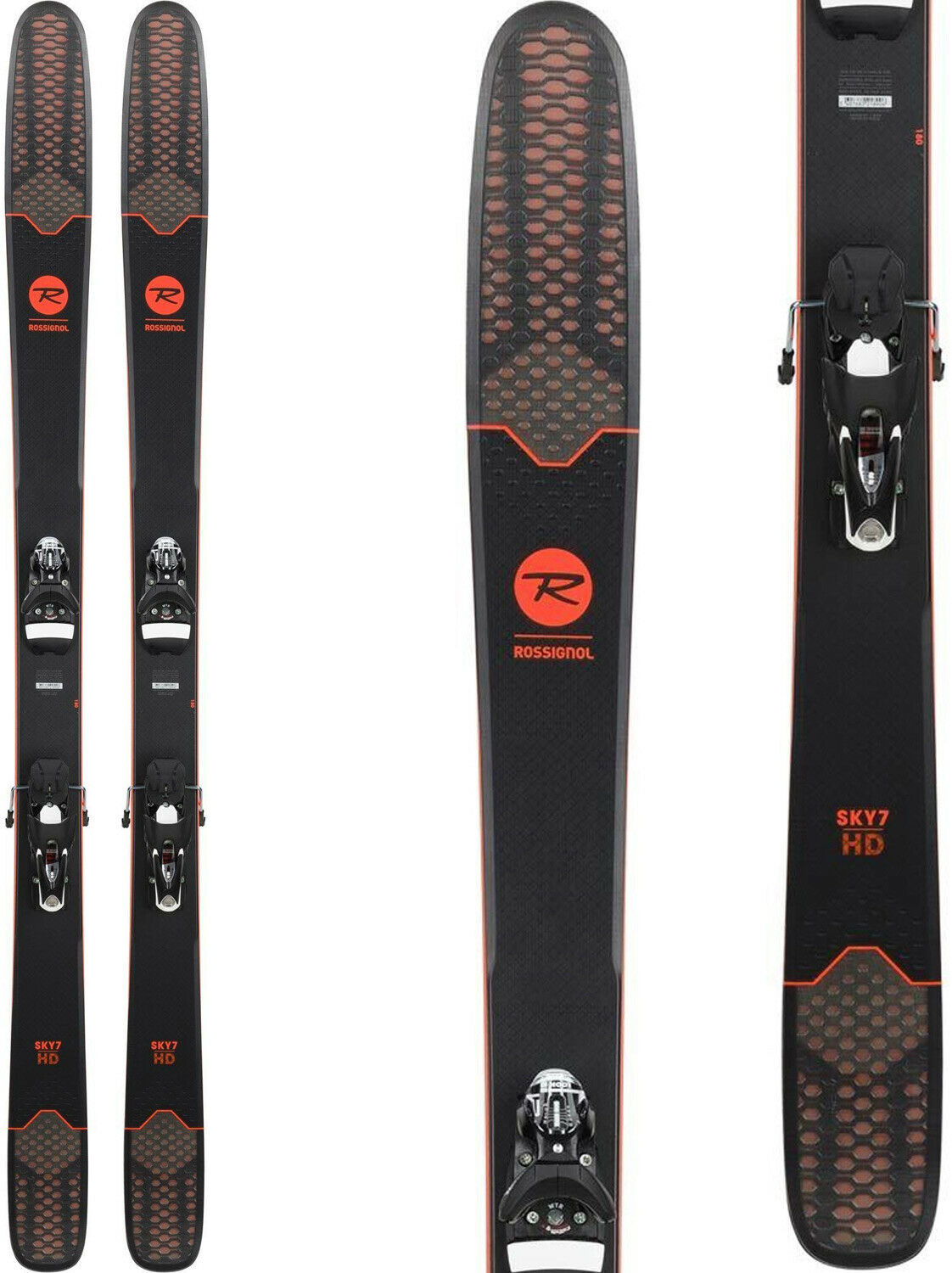 2019 Rossignol Sky 7 HD Konect- with integrated binding- limited quantities