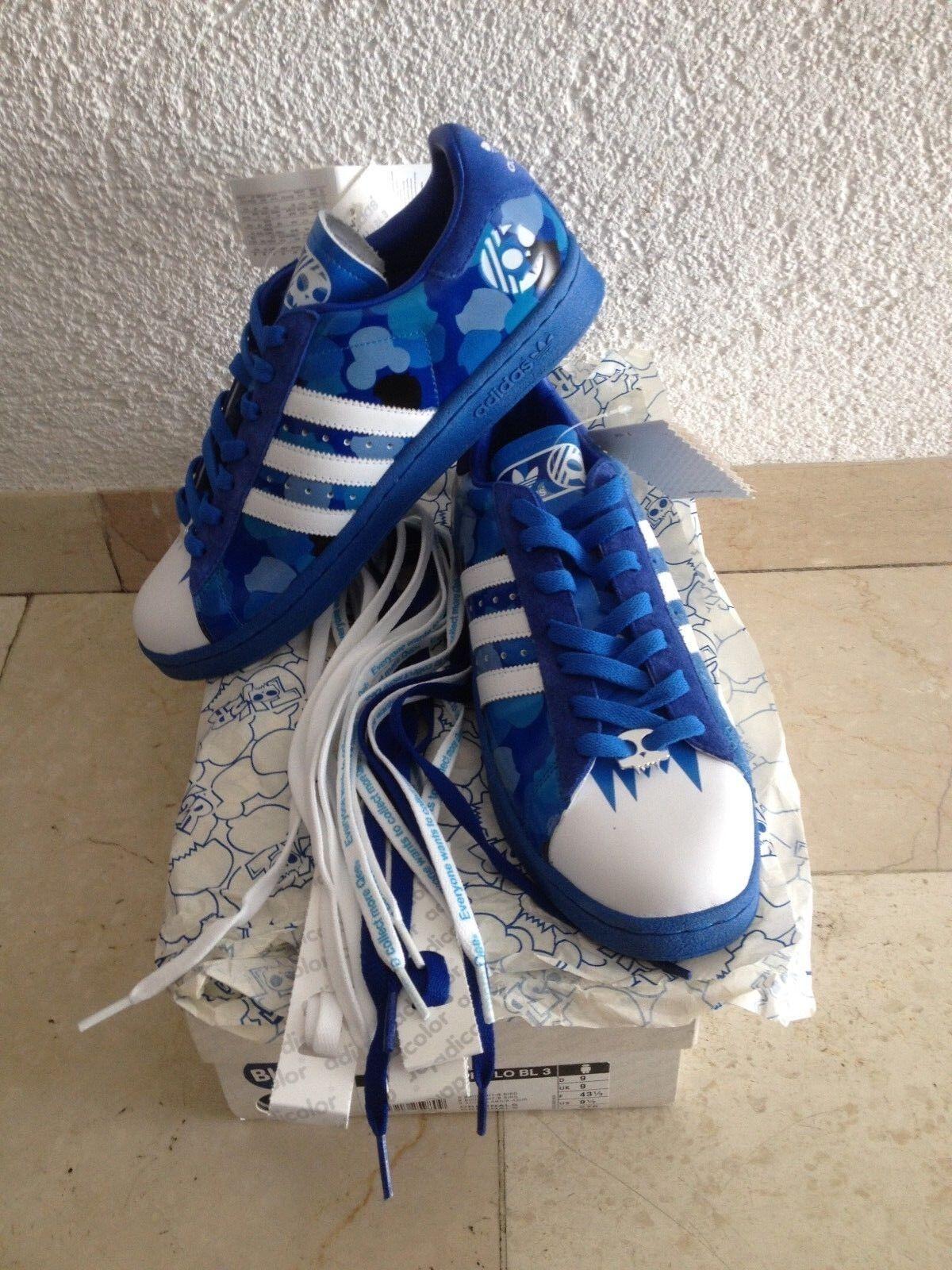 Adidas adiFarbe CENTURY LO BL3  43 UK 9 US 9.5 BNWT 562892 prod. 02 06 TOY2R NEU