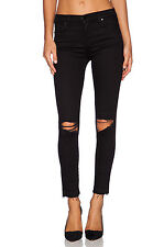 J BRAND HIGH RISE ALANA CROP OFFBEAT JEANS W25 UK 6/8