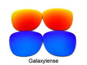 Galaxie rechange lentilles pour Ray-Ban RB3016 CLUBMASTER bleu Rouge ... 463b9041ed49