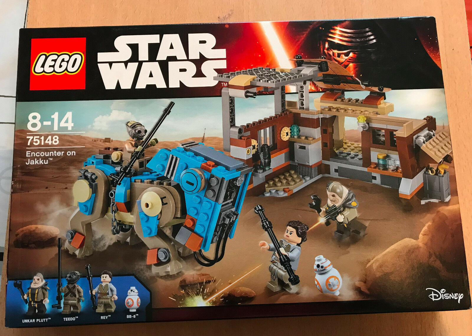 LEGO SET BOITE NEUF STAR WARS VAISSEAU 75148 ENCOUNTER ON JAKKU TEEDO REY BB-8