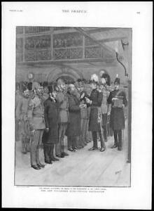 1895-Antique-Print-LONDON-London-Scottish-Lord-Methuen-Long-Service-201