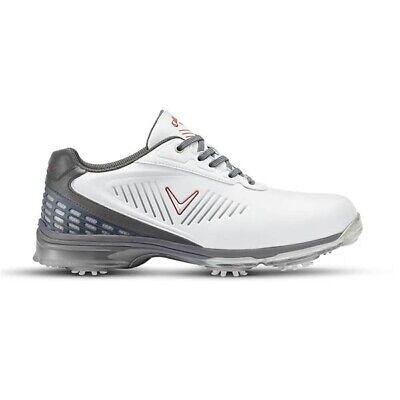 super specials special sales buy popular Callaway XFER NITRO Waterproof Golf Shoes - NEW - White/Grey - UK ...