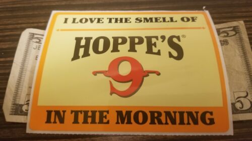OEM Original Hoppe/'s 9 I Love The Smell Of In The Morning Shot Show 2018