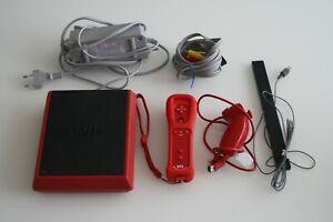 Nintendo Wii mini rot inkl Motion Plus Controller und Zubehör
