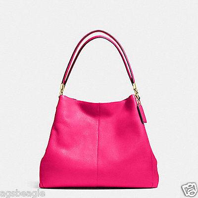 Coach Bag F34495 Madison Leather Small Phoebe Shoulder Bag Agsbeagle BTK