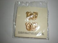 Us Army Warrant Officer Collar Insignia On Original 1981 Dated Card - 1 Pair