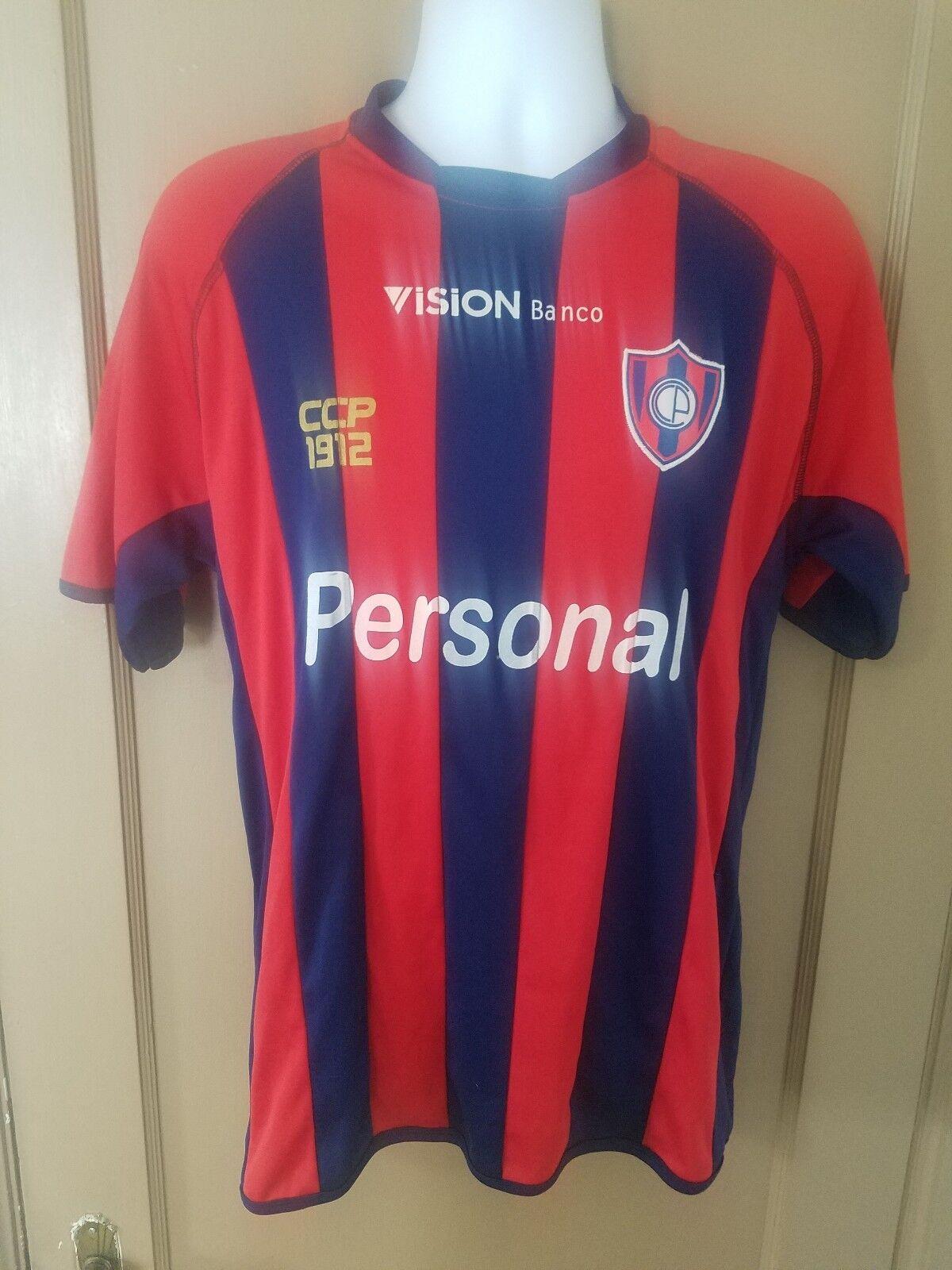 87d51dfdb Club cerro porteno jersey CCP Paraguay Sz M naurpy1058-Men