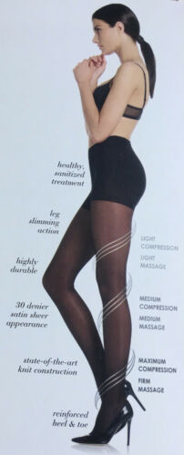 Levante Levia Compression Medical Pantyhose 30 Denier 80/% Polyamide 20 Elastane