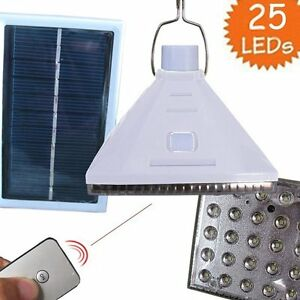 25LED-Solar-Powered-Outdoor-Camping-Yard-Lamp-Remote-Control-Night-Light-White