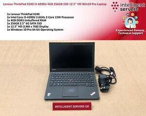 Lenovo-ThinkPad-X240-i5-4th-Gen-4GB-DDR3-256GB-SSD-12-5-034-HD-Windows-10-Pro