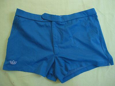 Détails sur Short Adidas Vintage Bleu Marine 20 % coton Ventex Homme 80'S Retro 80 S