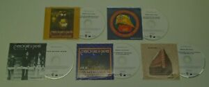 EMERSON-LAKE-amp-PALMER-Fanfare-Bonus-Discs-2017-UK-promo-test-5-CD-set