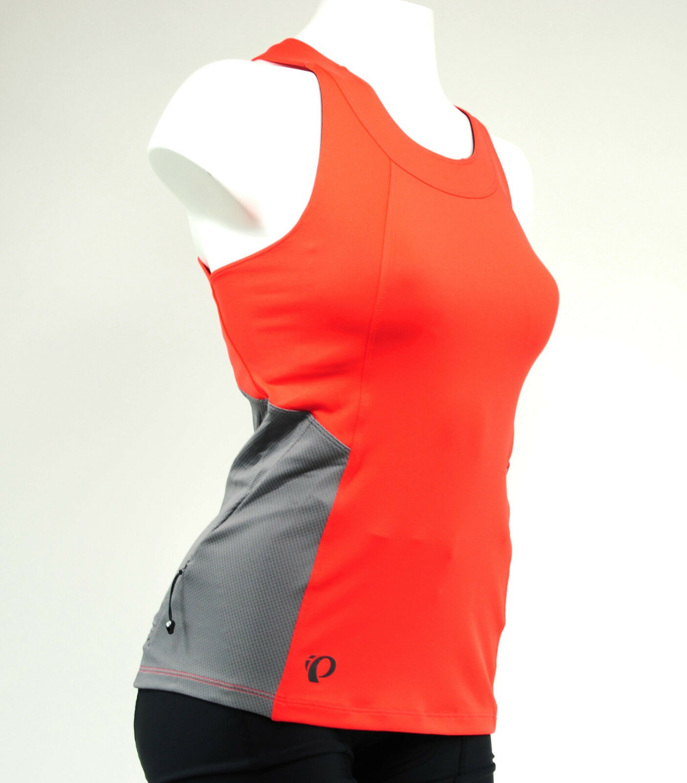 Pearl Izumi Women's Journey Tank Top Cycling Jersey,Poppy Red Smoked Pearl,Large