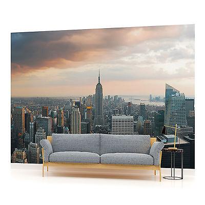 New York City Skyline Urban PHOTO WALLPAPER WALL MURAL ROOM - 133VEVE