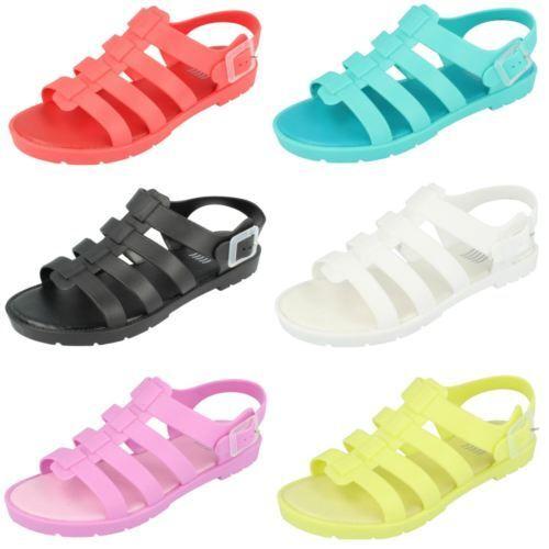 f0837- femmes synthétique bout 6 ouvert gelé style sandale 6 bout couleurs- Super prix c85a43