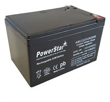 12V 12AH Sealed Lead Acid Battery for Hoveround Activa Wheelchair by POWERSTAR