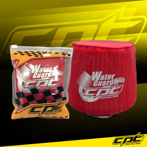 Water Guard Cold Air Intake Pre-Filter Cone Filter Cover for Acura Small Red