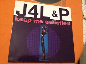 J-4-L-P-KEEP-ME-SATISFIED-1991-UK-12-Single-ITALO-HOUSE-IQ-Rec-VG