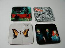 Paramore Album Cover COASTER Set